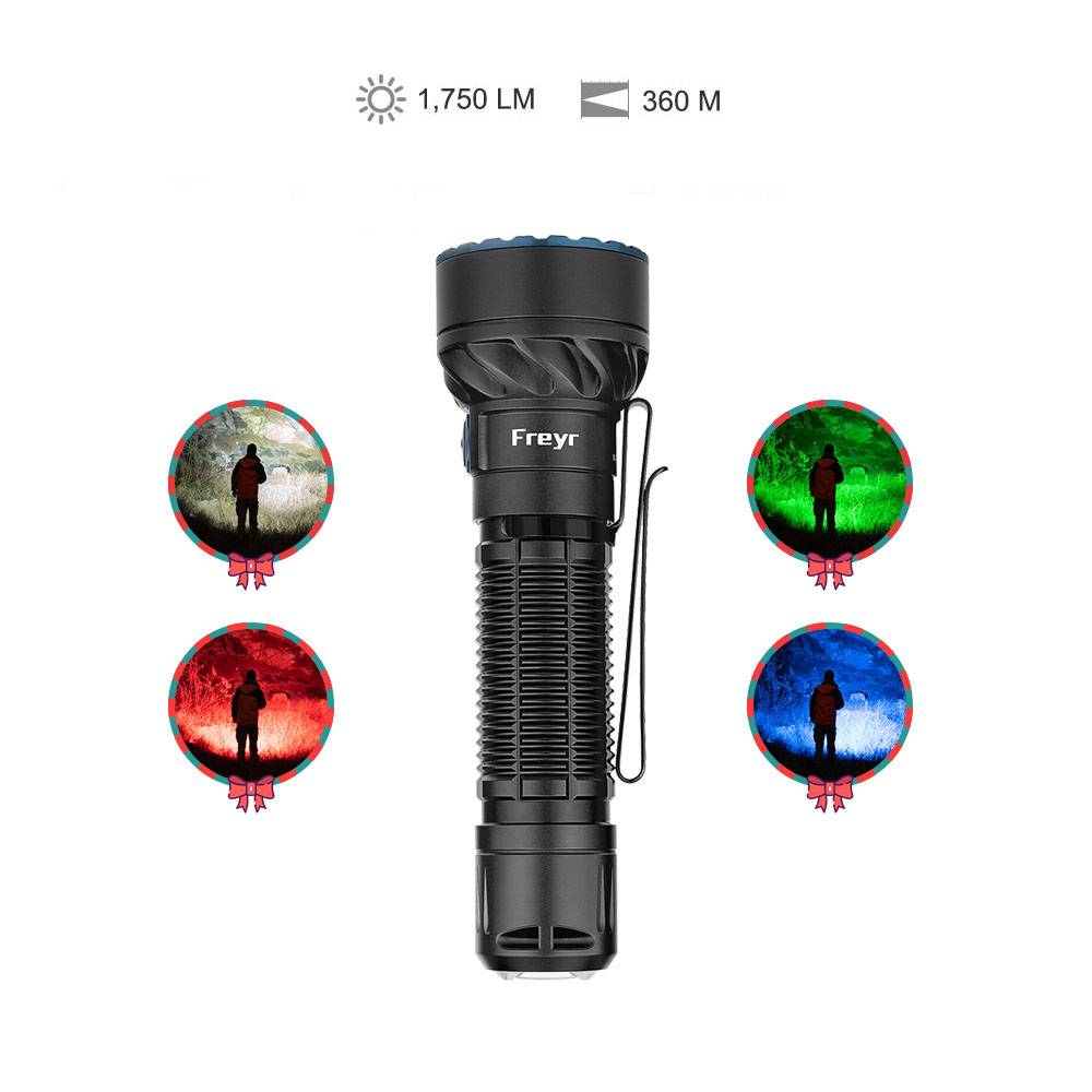 Olight First 4-coloured Freyr 1,750 Lumens included Traffic Wand
