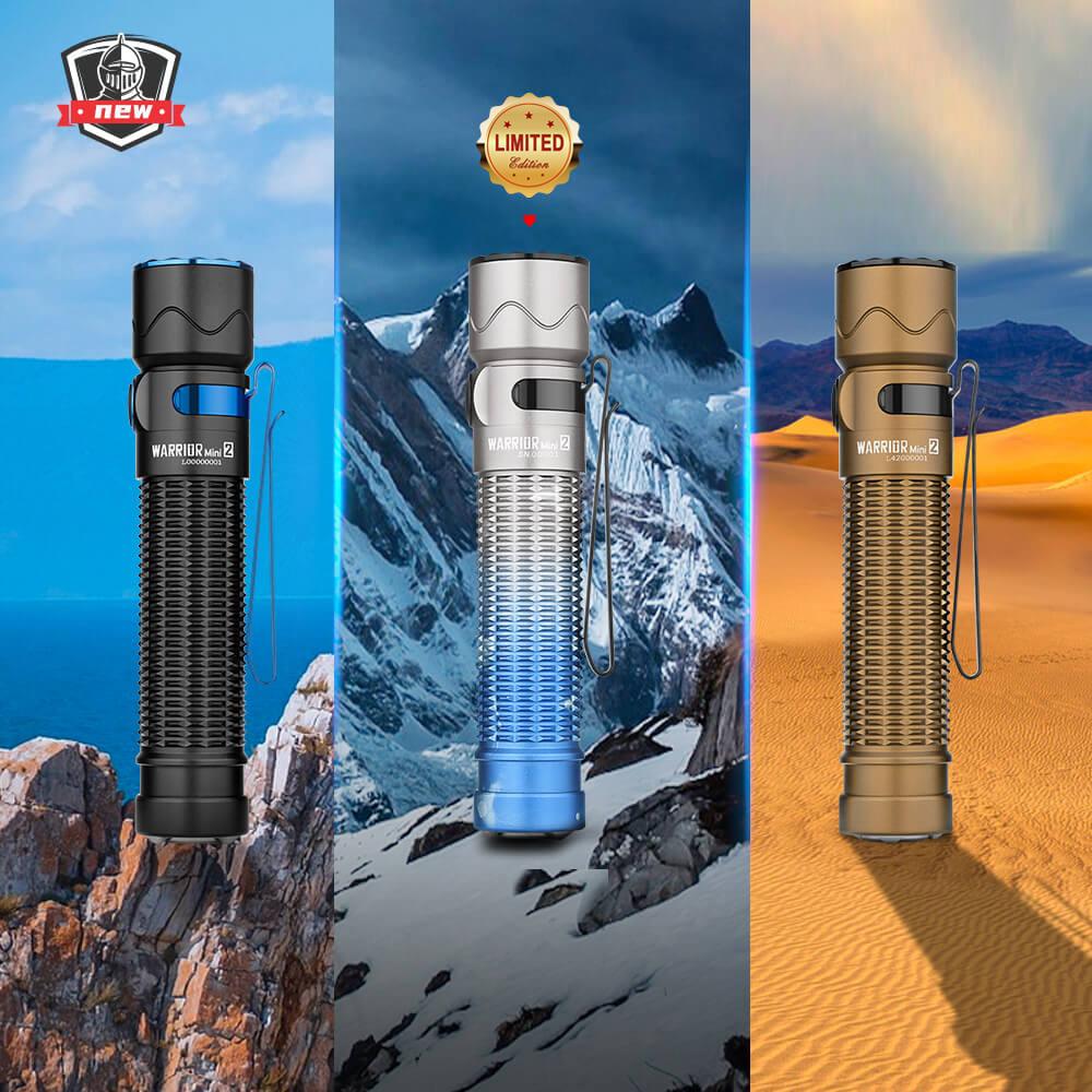 Olight Warrior Mini 2 Small LED Flashlight for Everyday Carry