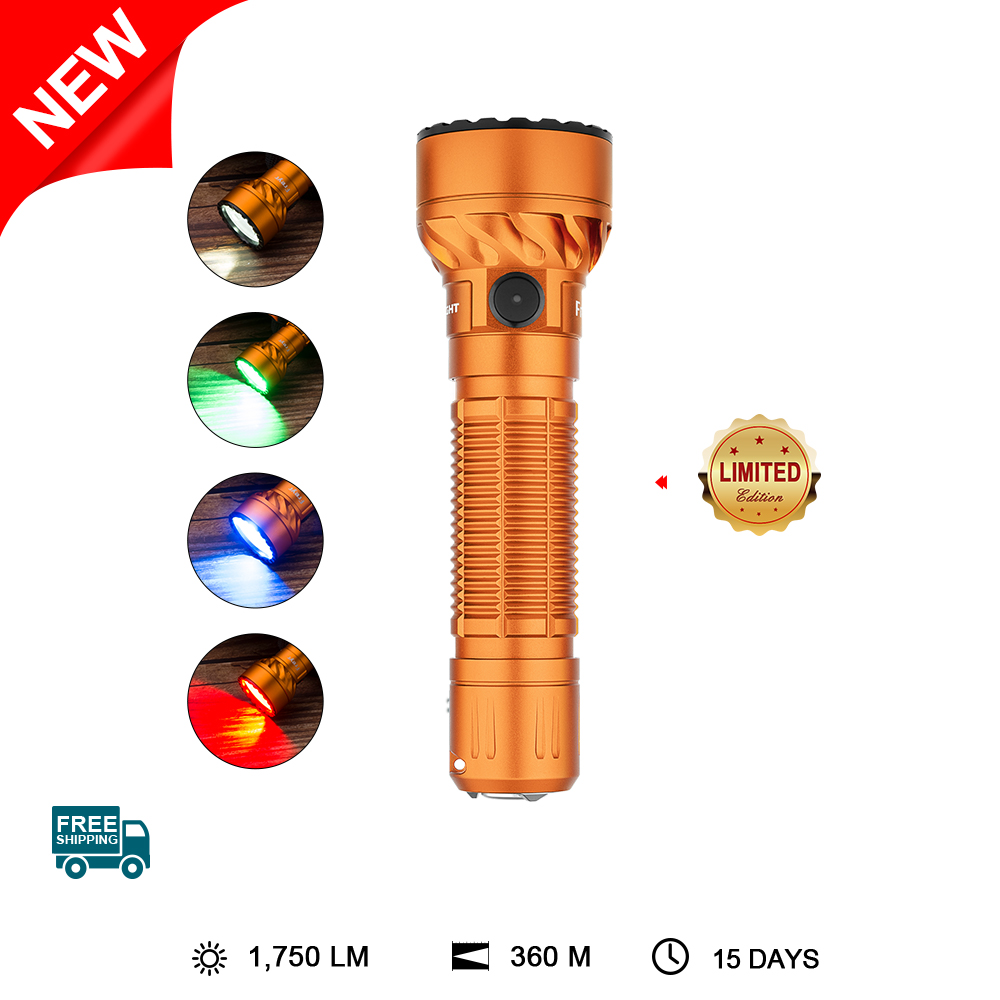 Olight Freyr Orange Torch Tactical Multifunction LED Flashlight