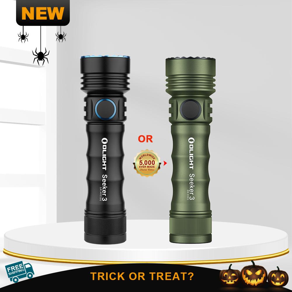 Olight Seeker 3 Black/OD Green  3500lumens powerful flashlight