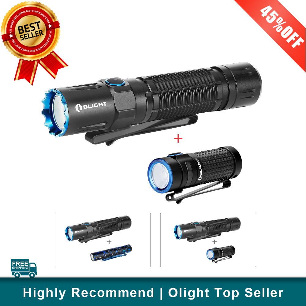 Olight M2R PRO Bundle i5T Stardust/S1R II Black