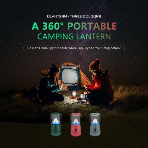 Olight Three Colors Lantern LED Camping Lights