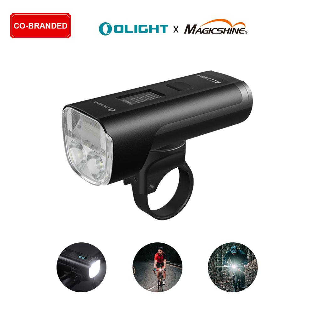 Co-branded ALLTY 2000 Creative OLED Screen USB Bike Lights