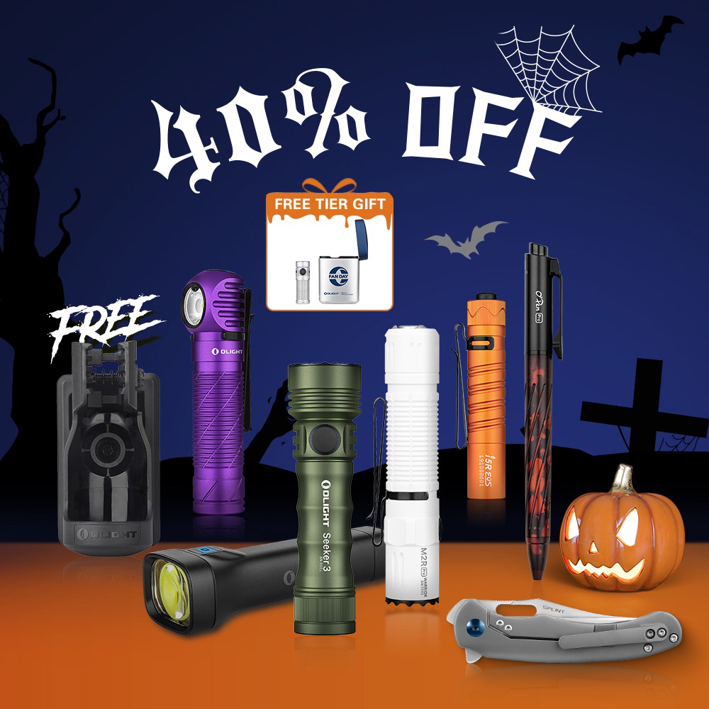 Olight Halloween New Pack, Up to 40% Off