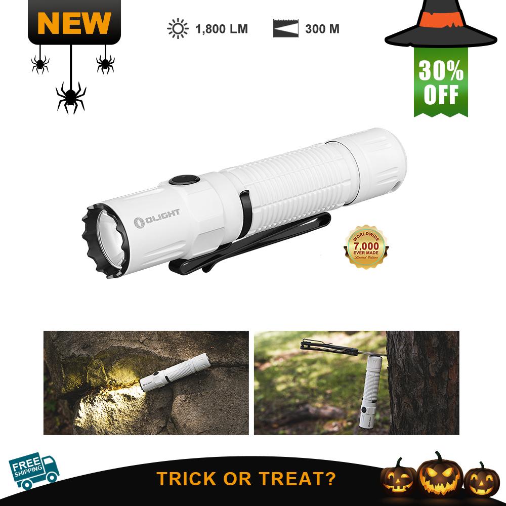 Olight M2R Pro White 1800 Lumens Aggressive LED Military Flashlight