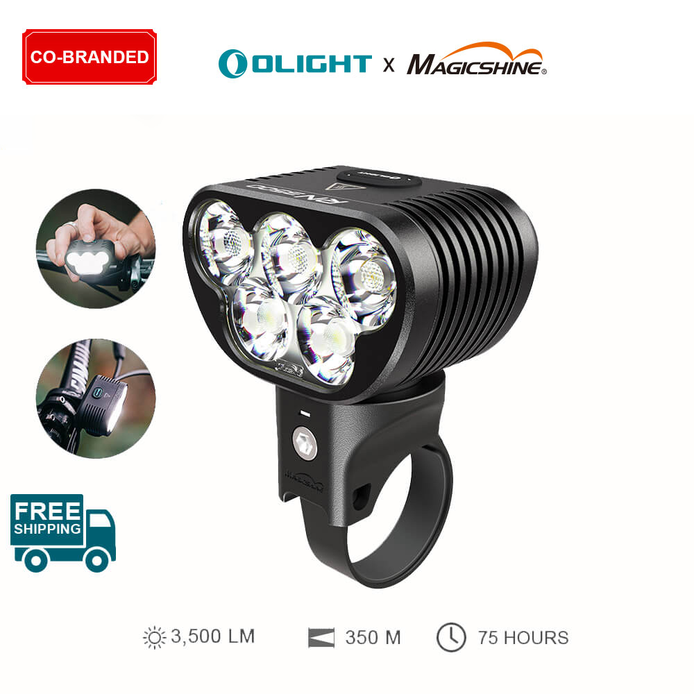 Olight Magicshine RN3500 Bicycle Headlight with Battery Pack
