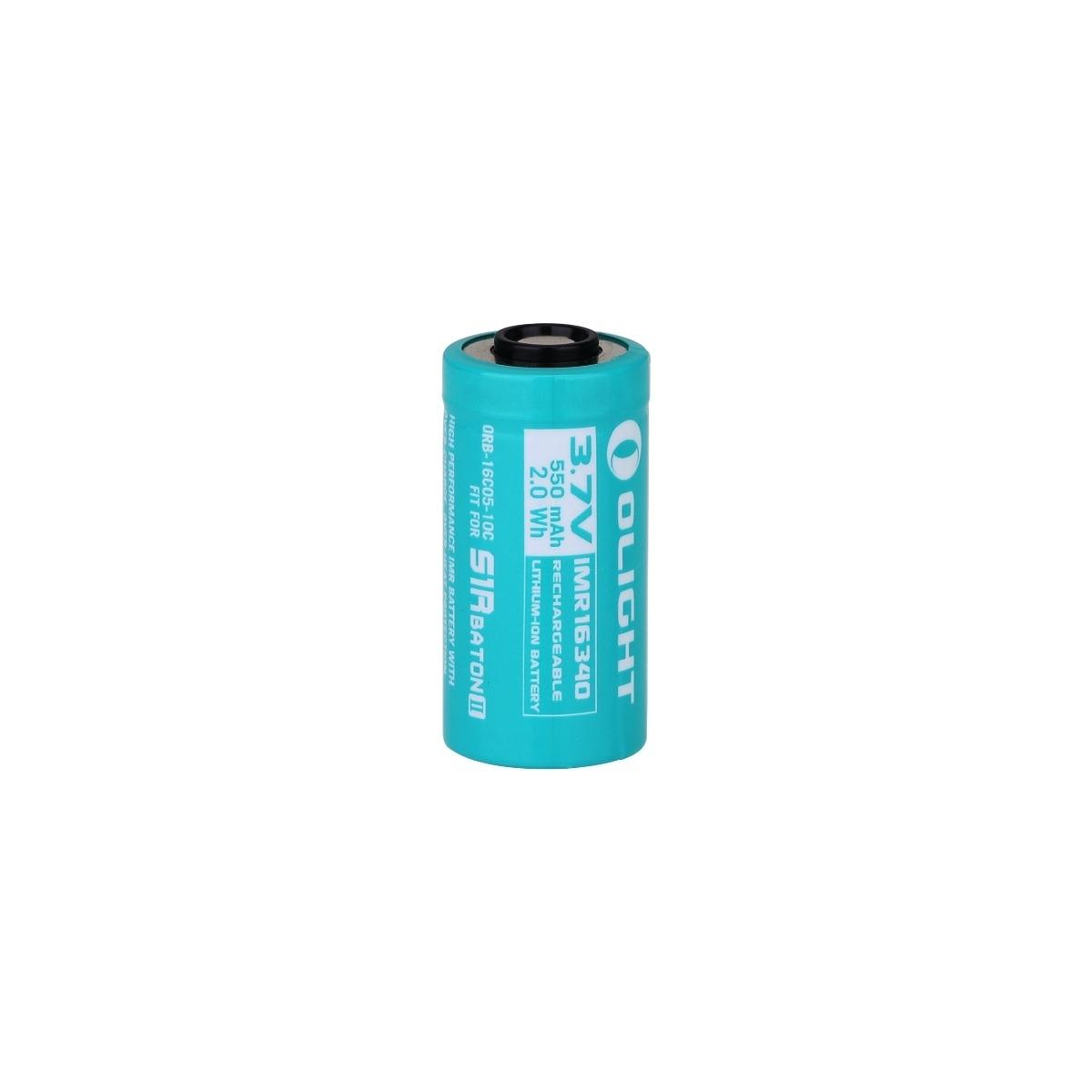 16340 (RCR123A) Customized 550mAh Battery