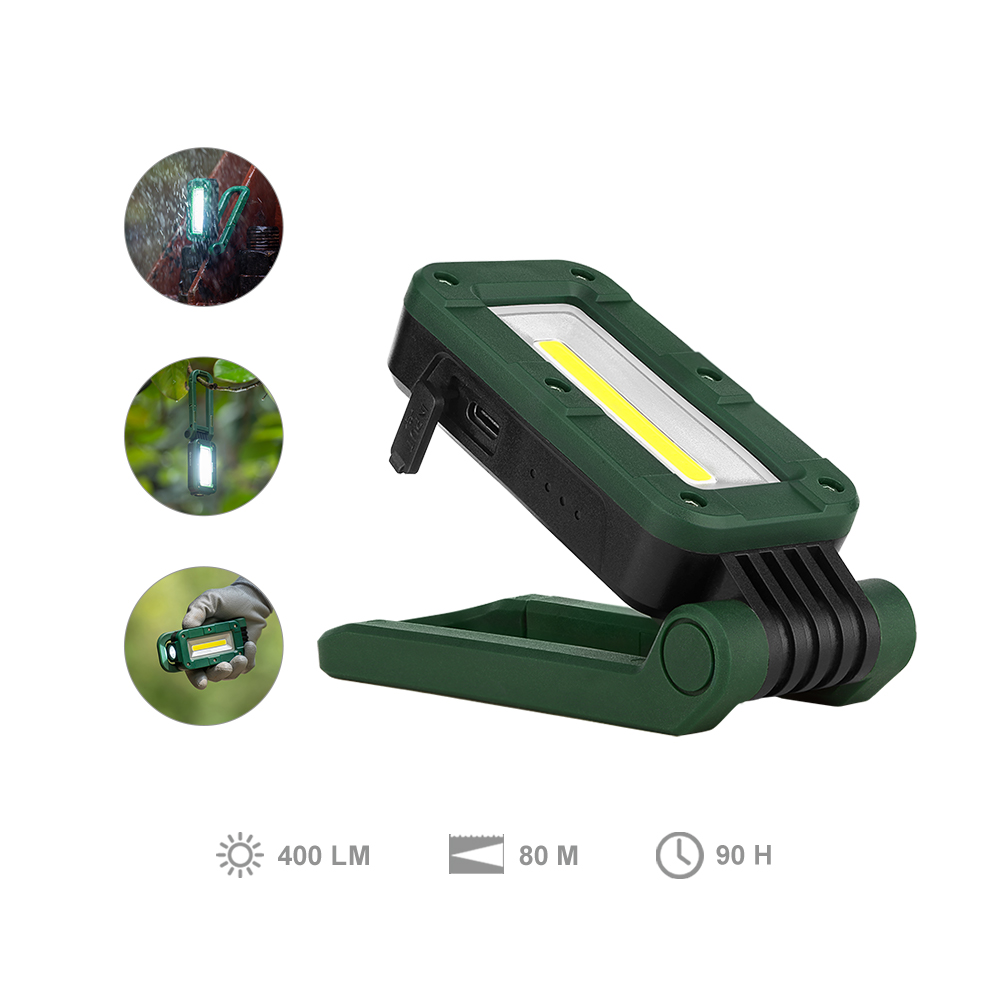 Olight Swivel Moss Green Compact Rechargeable Magnetic Work Light
