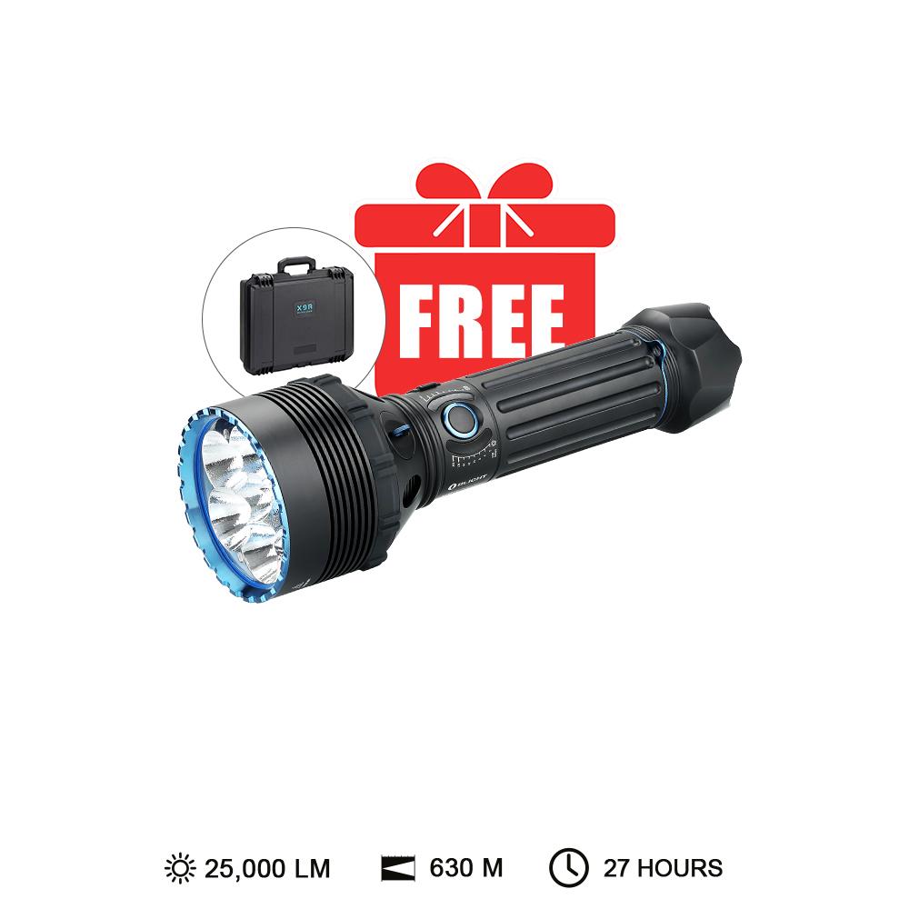 Olight X9R Marauder Brightest 25000 lumens Hunting Light