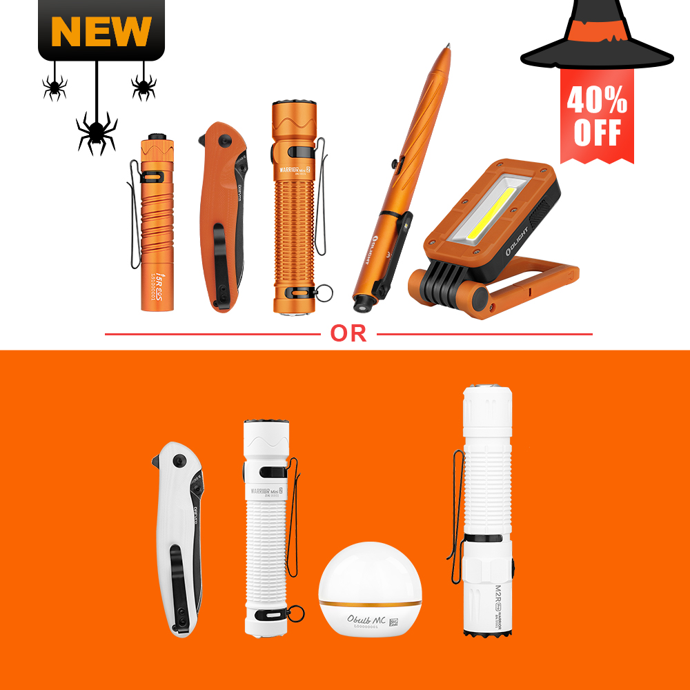 Olight Halloween Pack , Up to 40% Off