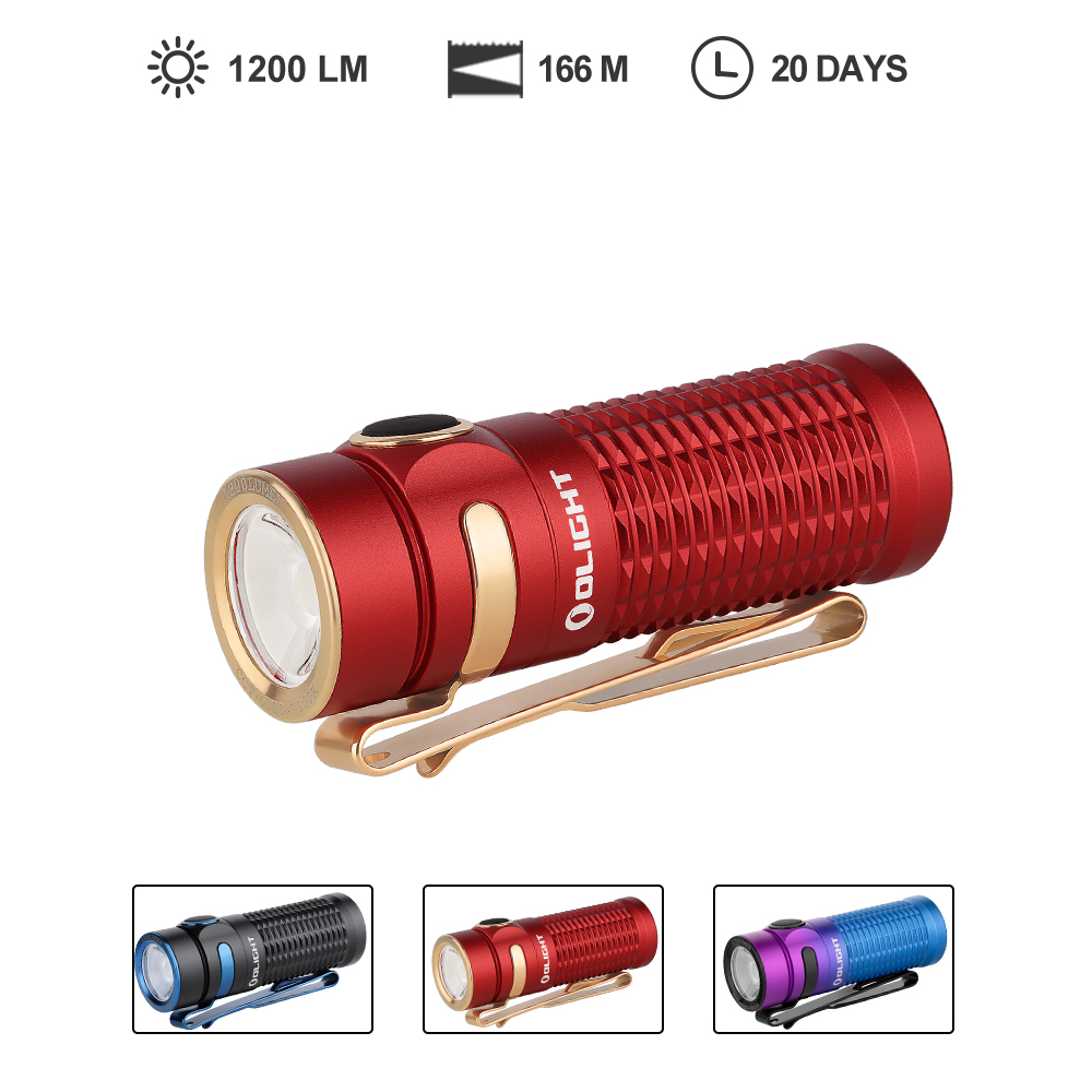 Olight Baton 3 Standard Edition Pocket Rechargeable EDC Flashlight