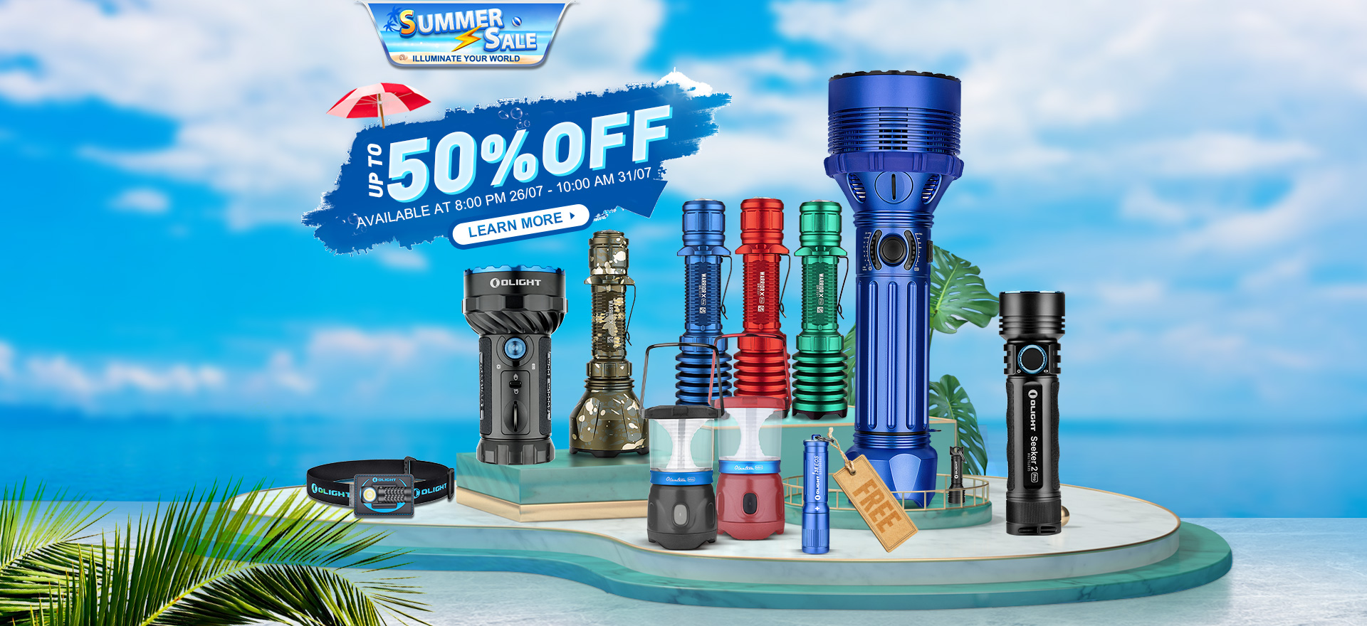 Olight Summer Sale  Buy More, Save More!