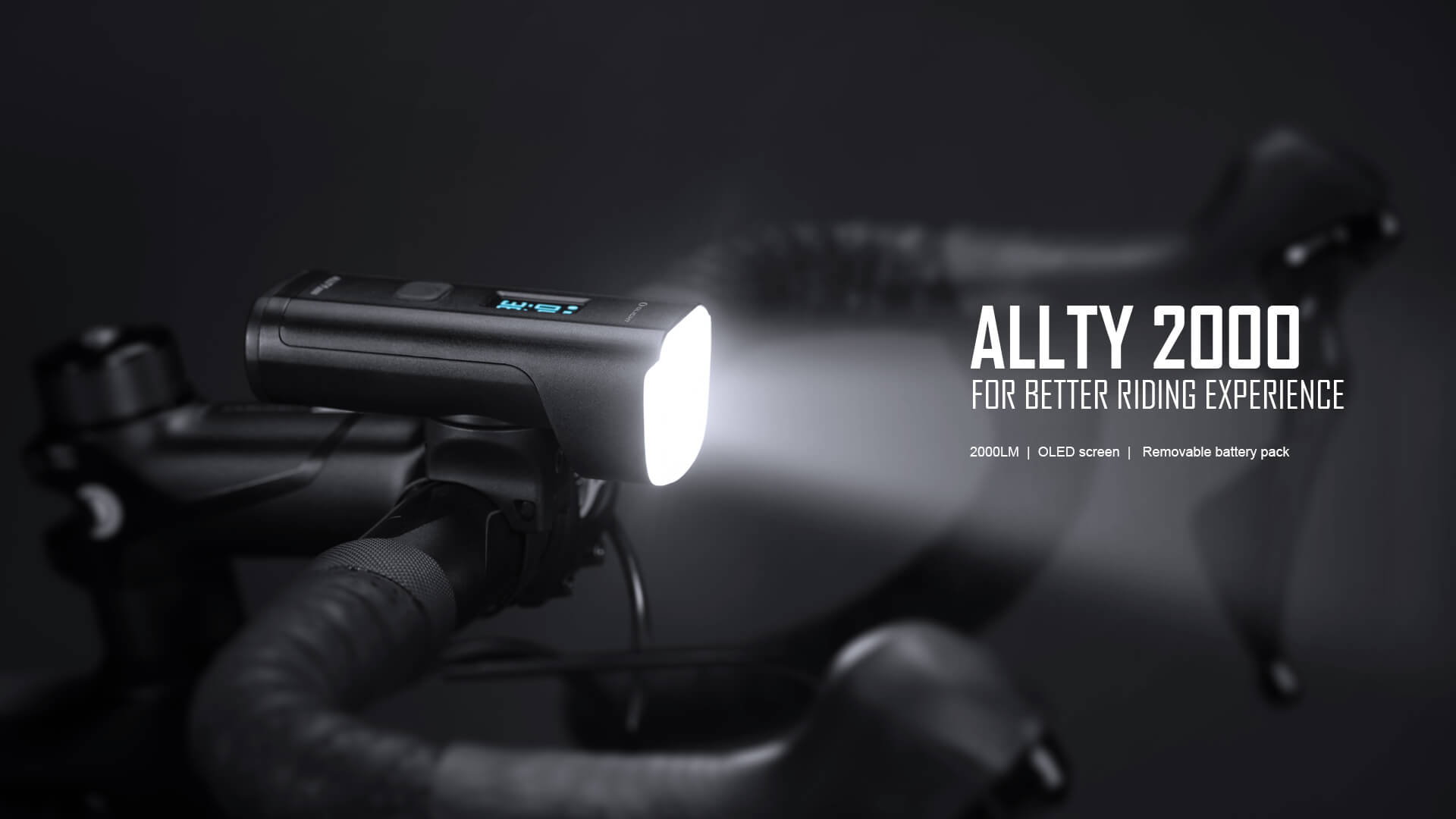 ALLTY 2000 Bicycle Light